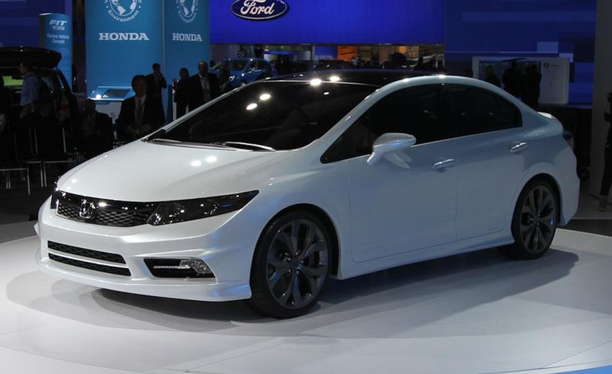 2012 Honda Civic Si coupe concept - Slide 15