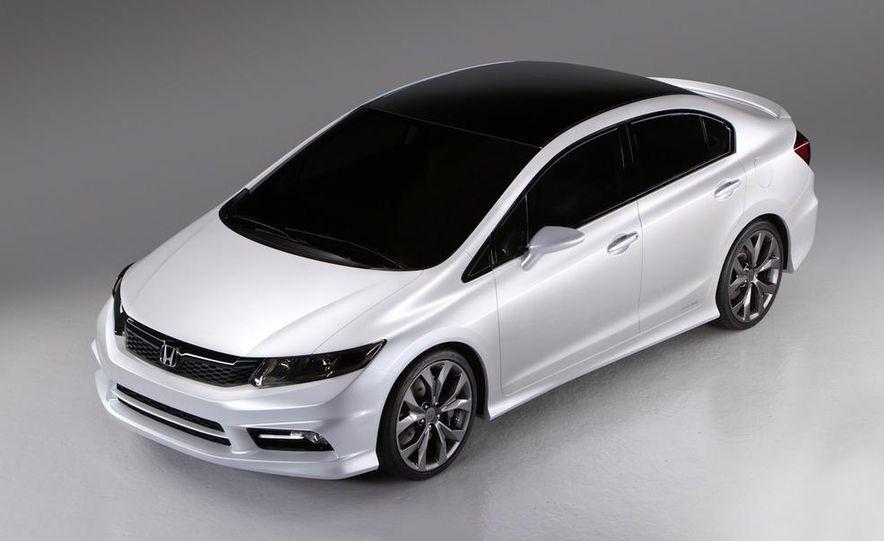 2012 Honda Civic Si coupe concept - Slide 27
