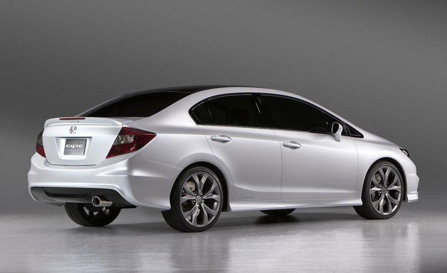 2012 Honda Civic Si coupe concept - Slide 28