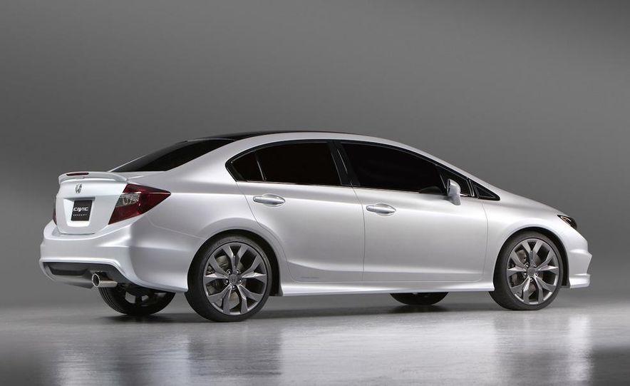 2012 Honda Civic Si coupe concept - Slide 29