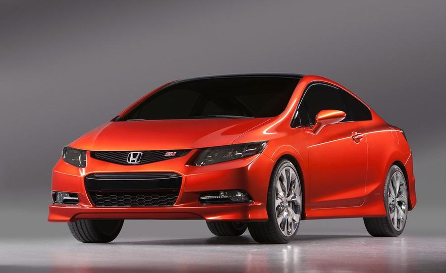 2012 Honda Civic Si coupe concept - Slide 16