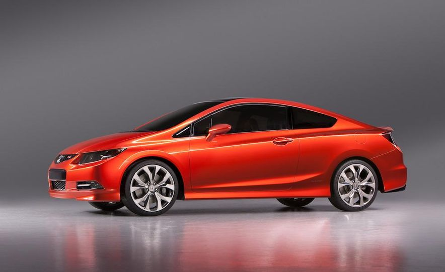 2012 Honda Civic Si coupe concept - Slide 17
