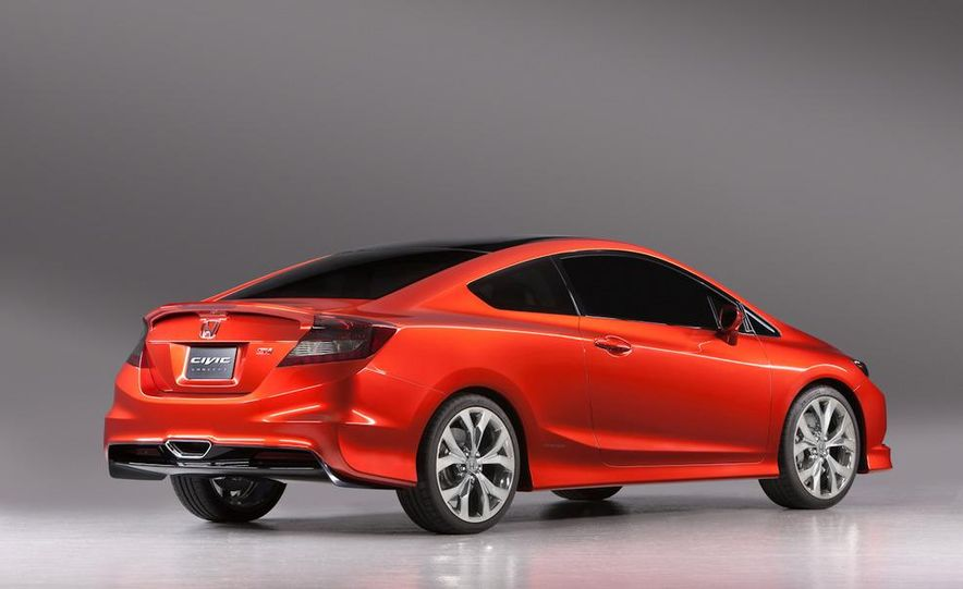 2012 Honda Civic Si coupe concept - Slide 19