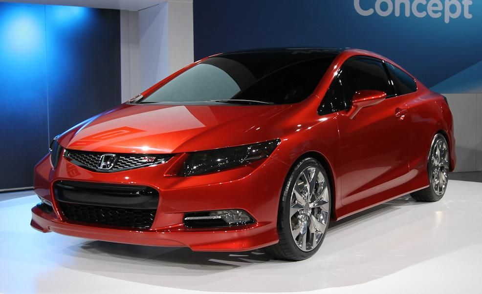 2012 Honda Civic Si coupe concept Pictures  Photo Gallery  Car