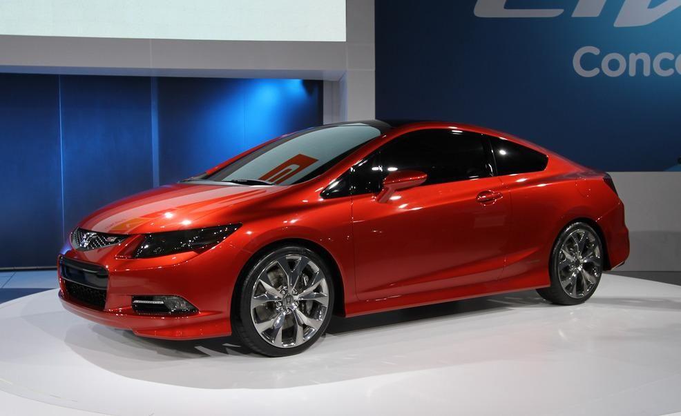 Honda Civic Si And Civic Sedan Concepts Honda Civic News Car And