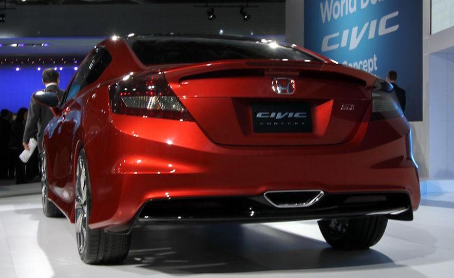 2012 Honda Civic Si coupe concept - Slide 4
