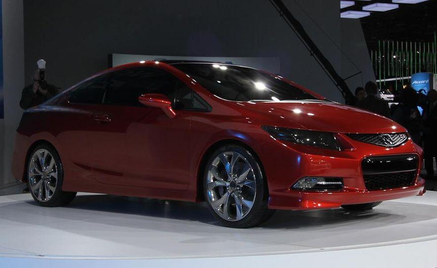 2012 Honda Civic Si coupe concept - Slide 7