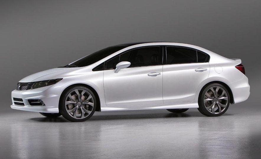 2012 Honda Civic Si coupe concept - Slide 25