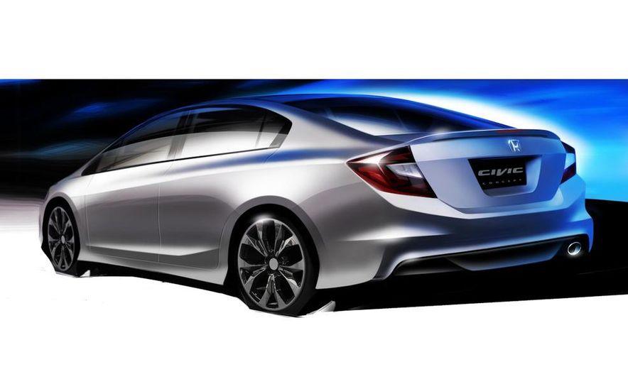 2012 Honda Civic Si coupe concept - Slide 31