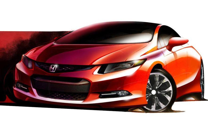2012 Honda Civic Si coupe concept - Slide 23
