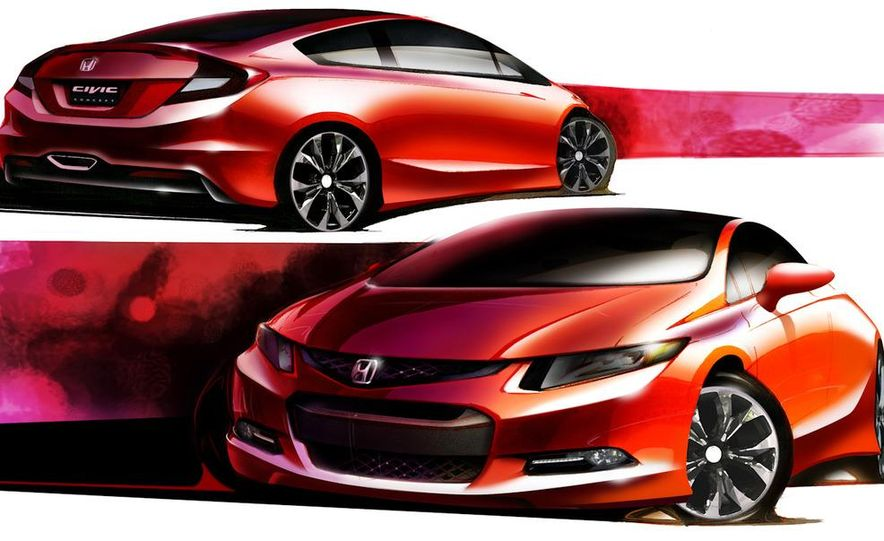 2012 Honda Civic Si coupe concept - Slide 24