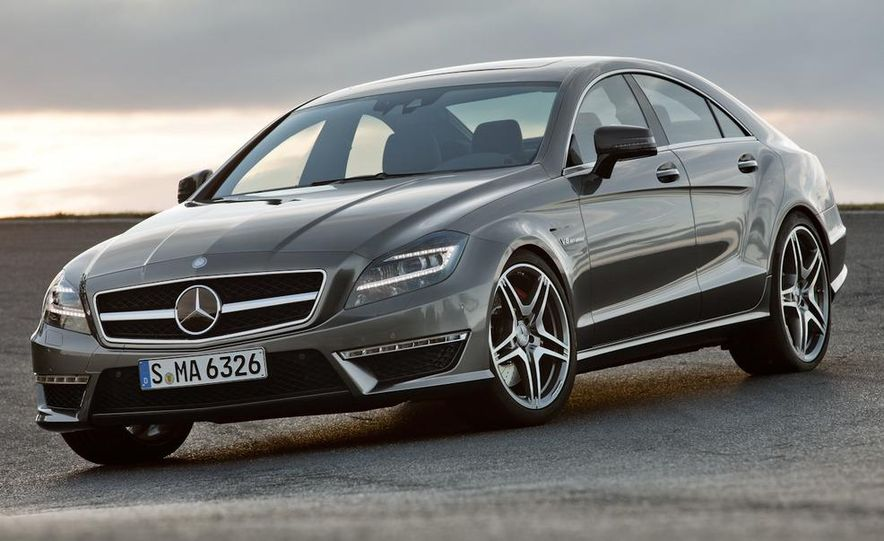 2012 Mercedes-Benz CLS63 AMG - Slide 13