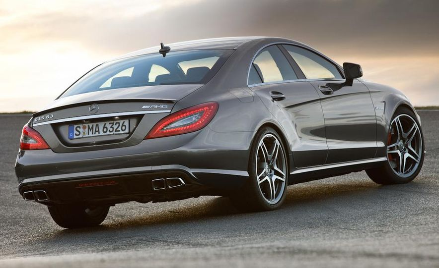 2012 Mercedes-Benz CLS63 AMG - Slide 14