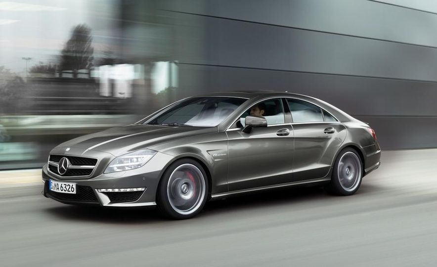 2012 Mercedes-Benz CLS63 AMG - Slide 15