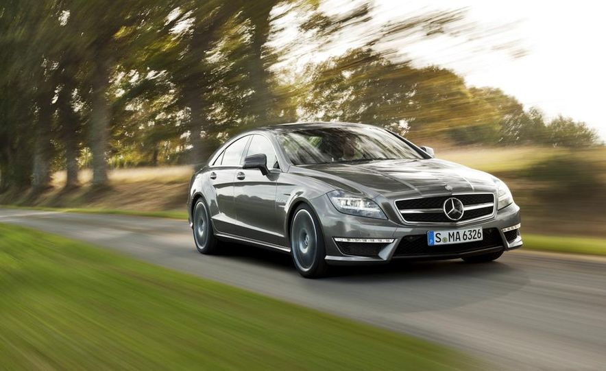 2012 Mercedes-Benz CLS63 AMG - Slide 17