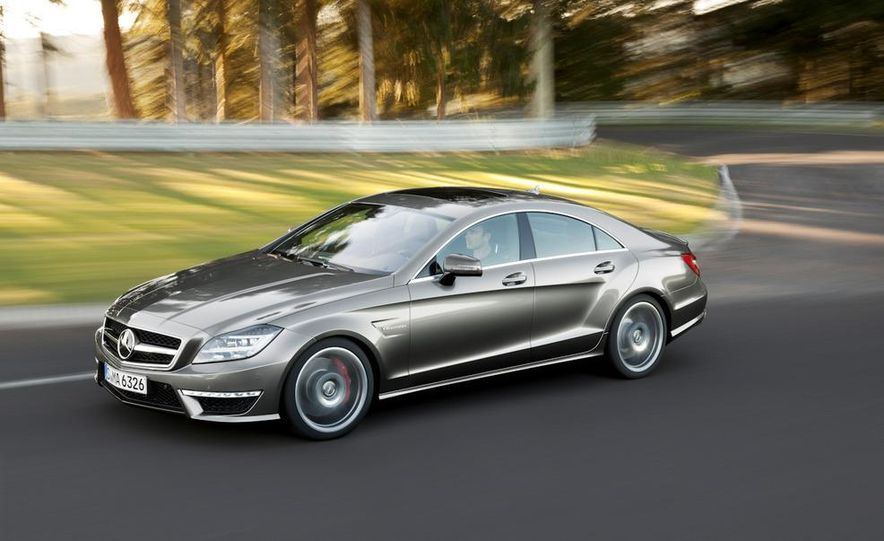 2012 Mercedes-Benz CLS63 AMG - Slide 20