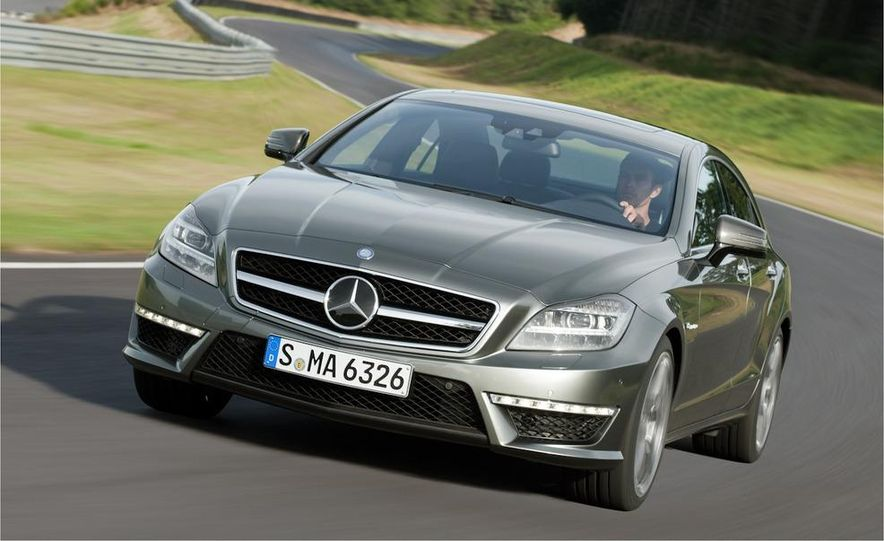 2012 Mercedes-Benz CLS63 AMG - Slide 22