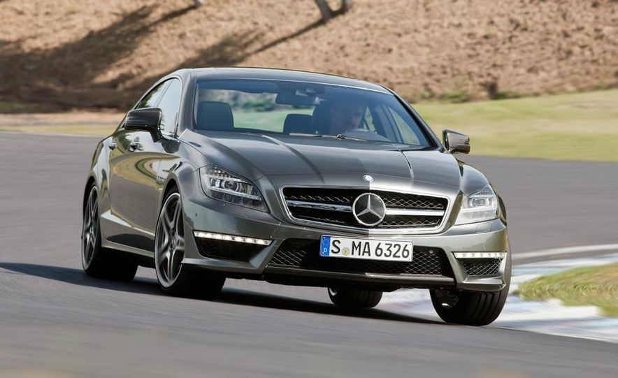 2012 Mercedes-Benz CLS63 AMG - Slide 23