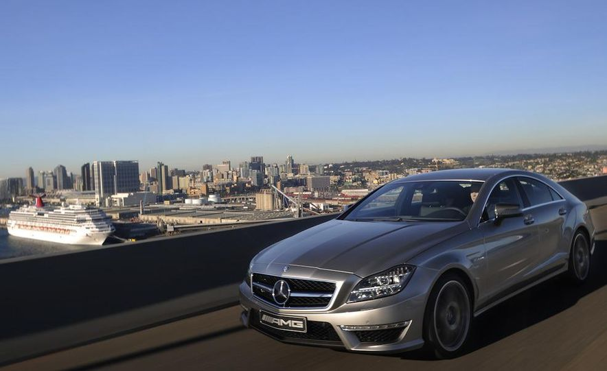 2012 Mercedes-Benz CLS63 AMG - Slide 3