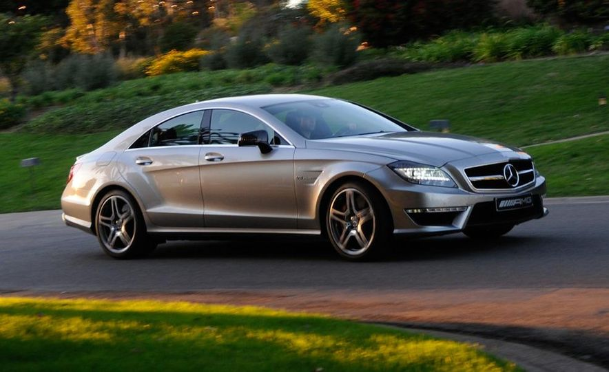 2012 Mercedes-Benz CLS63 AMG - Slide 4