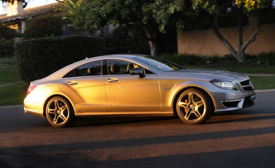 2012 Mercedes-Benz CLS63 AMG - Slide 5