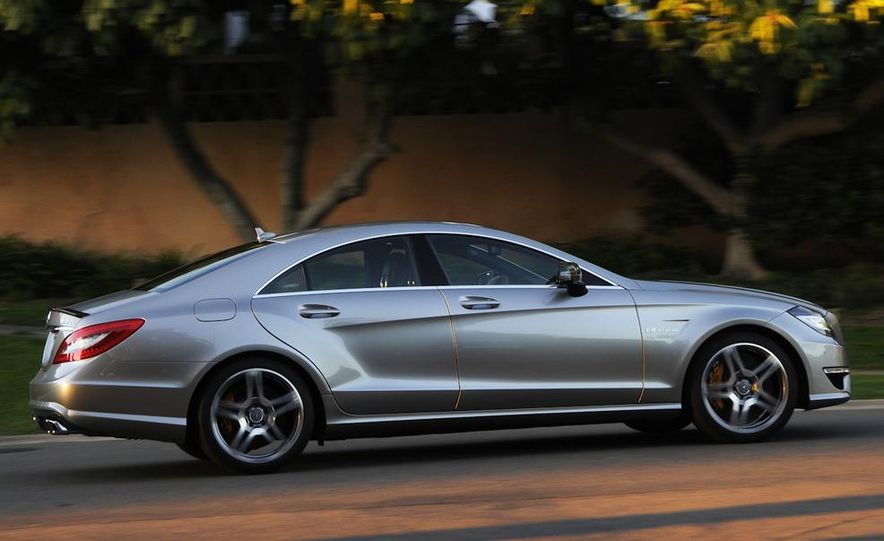 2012 Mercedes-Benz CLS63 AMG - Slide 7