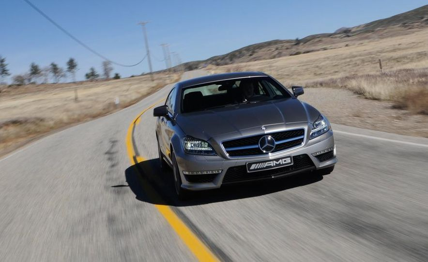 2012 Mercedes-Benz CLS63 AMG - Slide 9