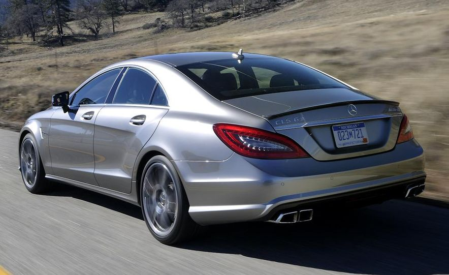 2012 Mercedes-Benz CLS63 AMG - Slide 10