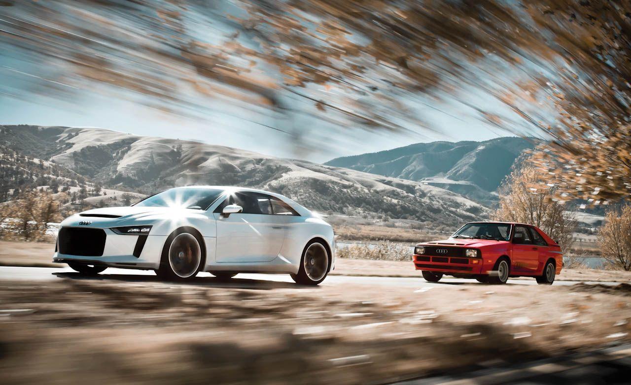 Audi Quattro Concept Meets Ur-Quattro