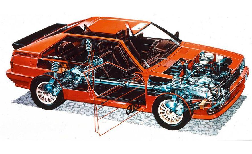 Audi Quattro concept and Audi Sport Quattro - Slide 22