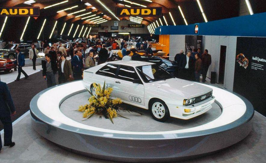 Audi Quattro concept and Audi Sport Quattro - Slide 15