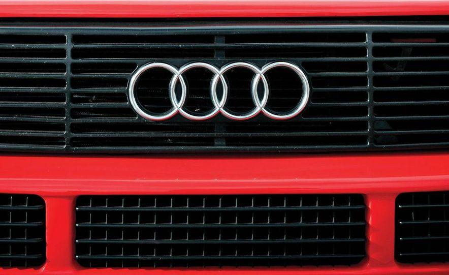 Audi Quattro concept and Audi Sport Quattro - Slide 18