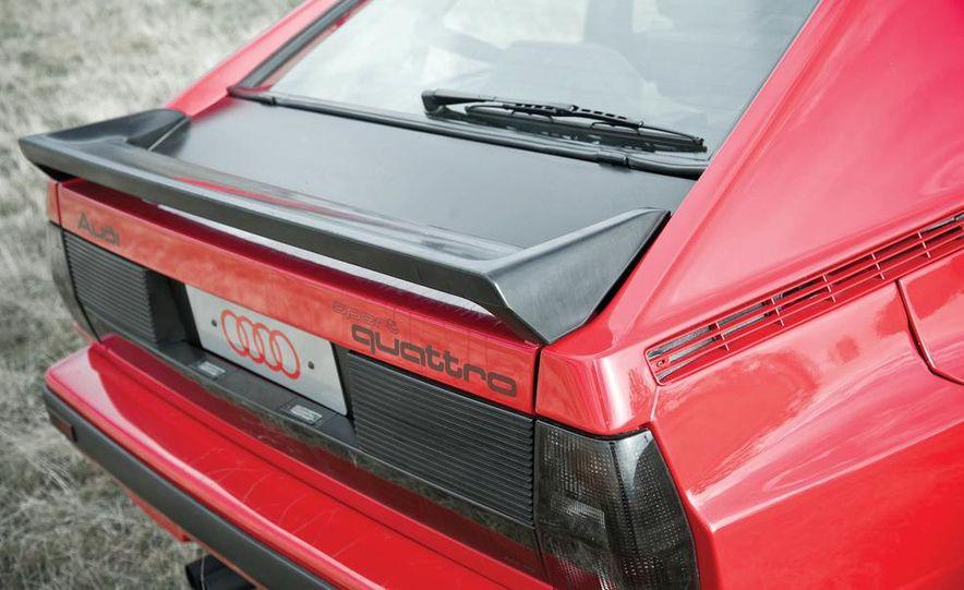 Audi Quattro concept and Audi Sport Quattro - Slide 19