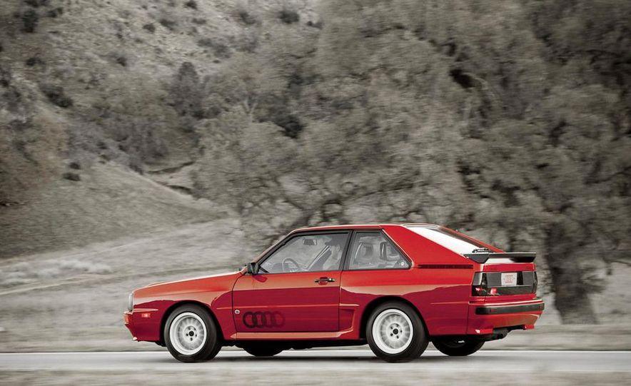 Audi Quattro concept and Audi Sport Quattro - Slide 17