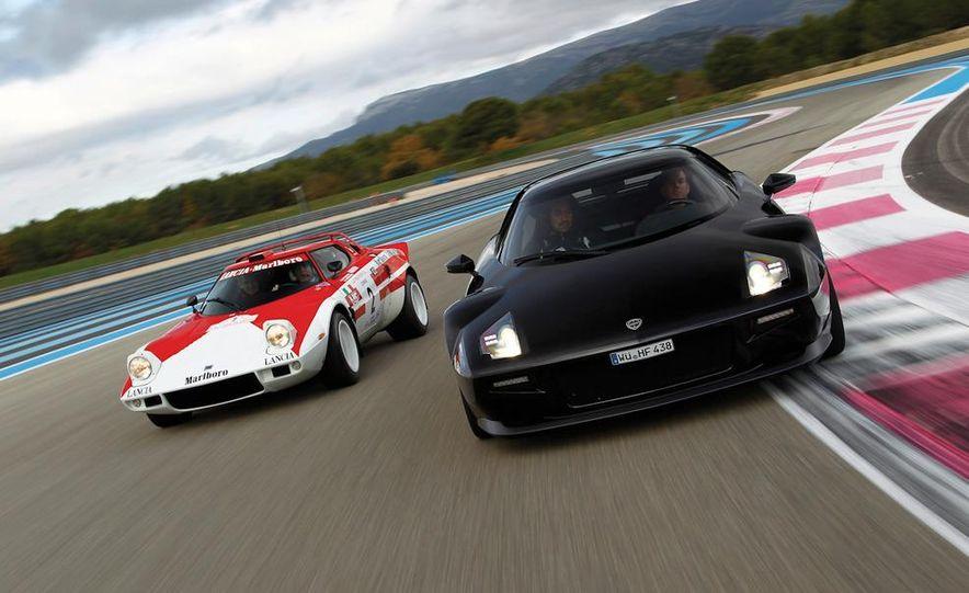 Original Lancia Stratos HF and New Lancia Stratos - Slide 1