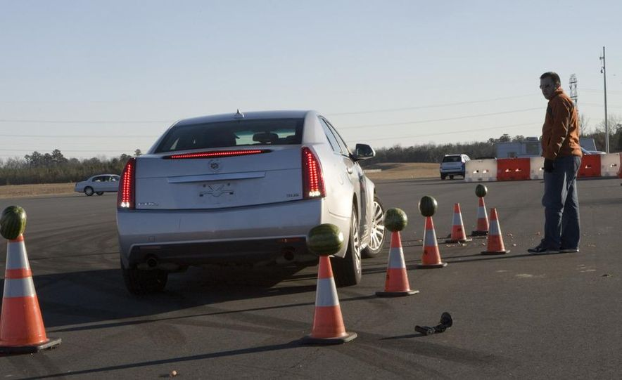 2011 Ford Mustang V-6 Convertible, 2010 Jeep Compass, 2011 Lincoln Town Car, 2010 Cadillac CTS4 - Slide 39