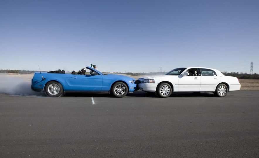 2011 Ford Mustang V-6 Convertible, 2010 Jeep Compass, 2011 Lincoln Town Car, 2010 Cadillac CTS4 - Slide 5