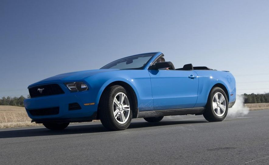 2011 Ford Mustang V-6 Convertible, 2010 Jeep Compass, 2011 Lincoln Town Car, 2010 Cadillac CTS4 - Slide 46