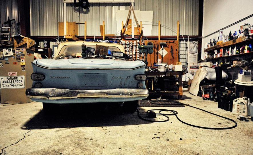 Ancient Grease: The Quest to Keep Studebaker Alive - Slide 9