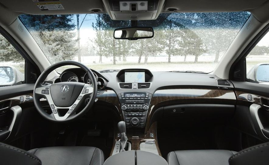 2011 BMW X5 xDrive35i, 2011 Land Rover LR4 HSE, 2011 Audi Q7 3.0T S-line, 2011 Acura MDX, and 2010 Lexus GX460 - Slide 15