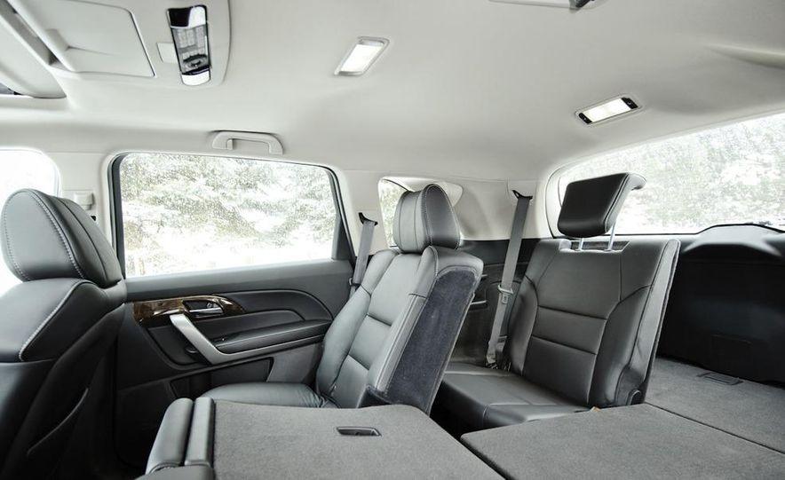 2011 BMW X5 xDrive35i, 2011 Land Rover LR4 HSE, 2011 Audi Q7 3.0T S-line, 2011 Acura MDX, and 2010 Lexus GX460 - Slide 16