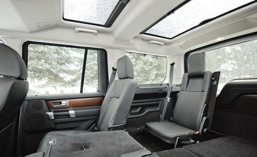 2011 BMW X5 xDrive35i, 2011 Land Rover LR4 HSE, 2011 Audi Q7 3.0T S-line, 2011 Acura MDX, and 2010 Lexus GX460 - Slide 21