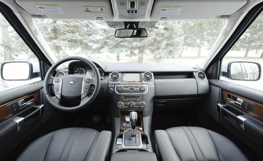 2011 BMW X5 xDrive35i, 2011 Land Rover LR4 HSE, 2011 Audi Q7 3.0T S-line, 2011 Acura MDX, and 2010 Lexus GX460 - Slide 22