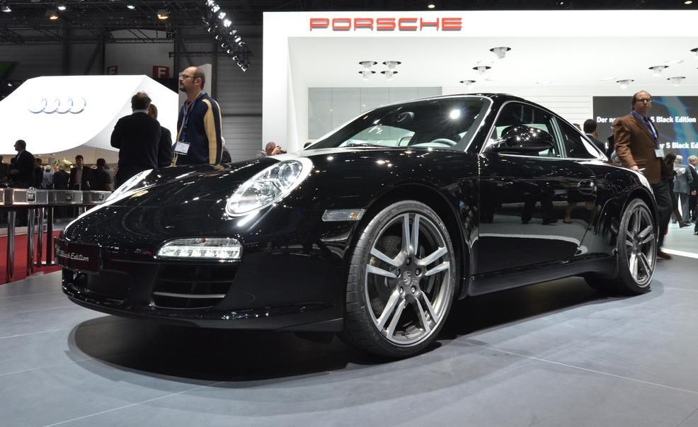 2012 porsche 911 black edition photo gallery car and driver