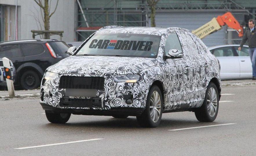 2012 Audi Q3 (spy photo) - Slide 4