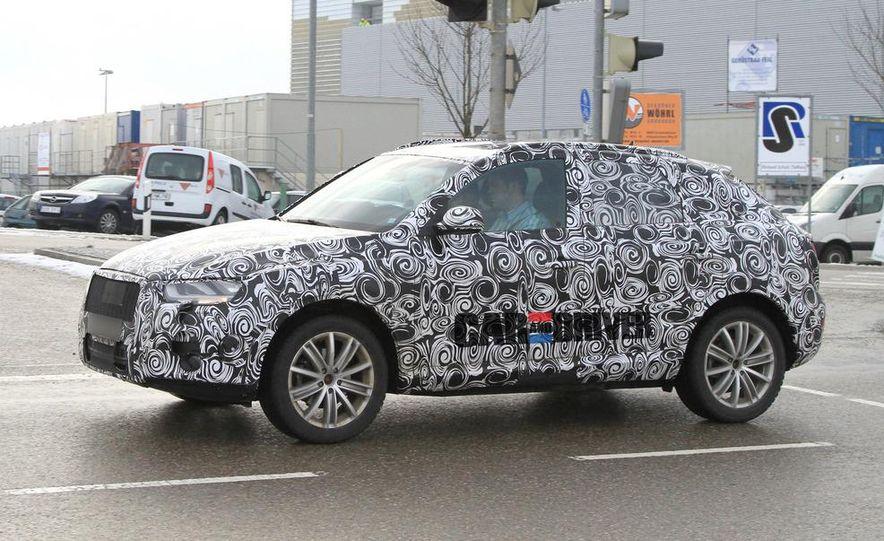 2012 Audi Q3 (spy photo) - Slide 1