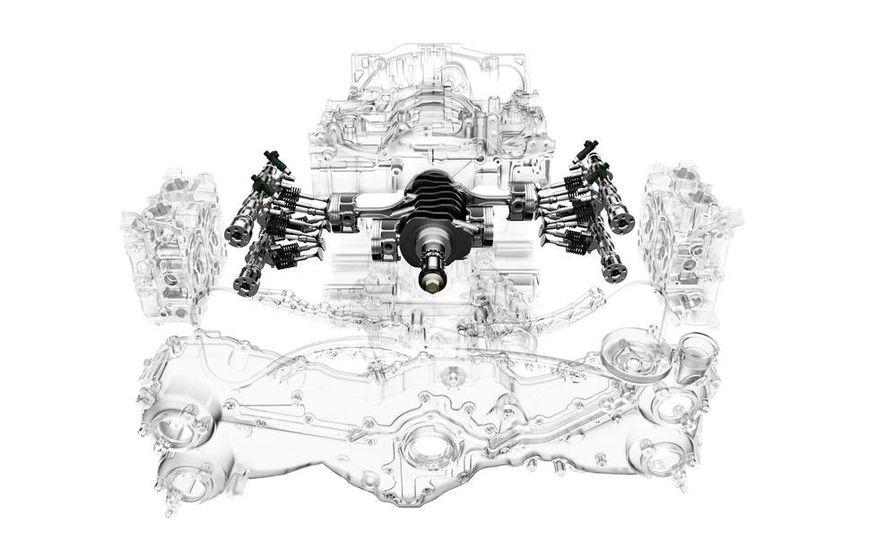 Subaru FB-series flat-4 engine - Slide 5
