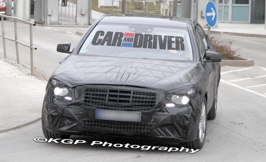2014 Mercedes-Benz S-class (spy photo) - Slide 1