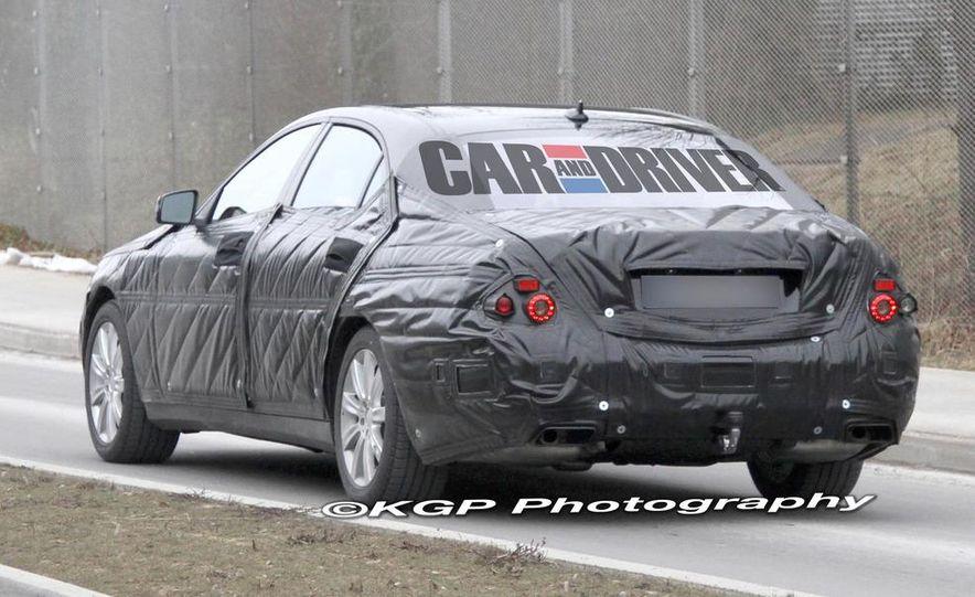 2014 Mercedes-Benz S-class (spy photo) - Slide 2