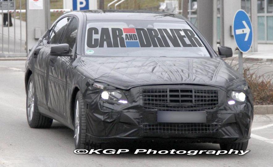 2014 Mercedes-Benz S-class (spy photo) - Slide 3